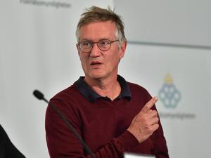 Anders Tegnell, statsepidemiolog på Folkhälsomyndigheten. Foto: Jonas Ekströmer/TT