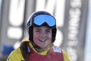 Alexandra Edebo blev sexa när tävlingarna i Innichen ställdes in.