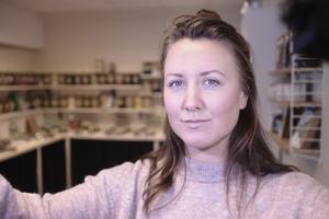 Joanna Mörtberg saknade en affär där man kan handla, och där det också är mysigt.