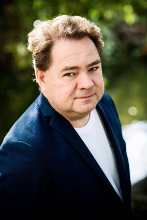 Samuel Karlsson har en ny  huvudperson. Foto: Eva Lindblad