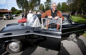 Leif Karlsson, Gonäs, hittade sin Opel Kapitän i en lada tidigare i år.