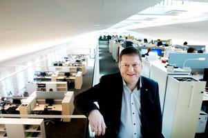 Magnus Fjell är verksamhetschef på kommunens servicecenter.