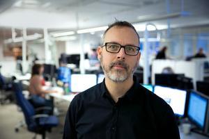 """Anders K Gustafsson blir ny kulturredaktör för DT. """"Jag älskar kulturdebatt och vill gärna utveckla den utifrån ett brett kulturbegrepp, utan att för den sakens skull mutera till en ledarsida."""""""