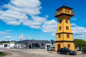 Ett nytt landmärke välkomnar turister till Medelpad.