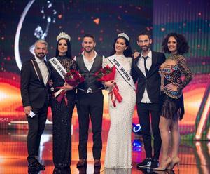 Här krönas Rreze Dautaj till årets Miss World Kosovo, för att sedan representera landet i stortävlingen i december. Foto: Rreze Dautaj