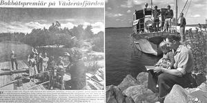 Bokbåtspremiär 1962.