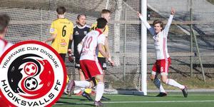 HuFF vann till slut hemmapremiären med 3–1.