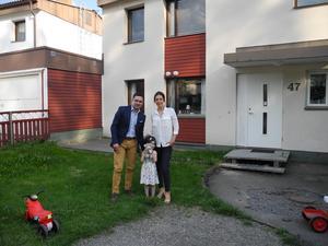 Ali Omumi med frun Negar Niknam Maleki och dottern Hanna fick lämna Sverige i somras och befinner sig nu i Turkiet.