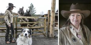 För fyra år sedan flyttade Monique Vermeer till Sörböle i Bispgården. Nu är hennes Shovelhead Ranch invigd.