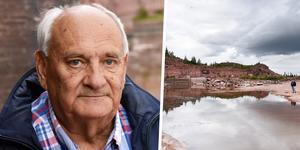 Rolf Eriksson beskriver stenbrottet som Mångsbodarnas eget lilla Dalhalla.