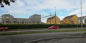 Strandgatan i Östersund.