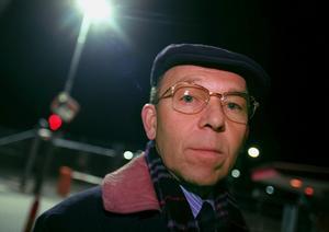 Per Olov Norberg i samband med Trustor-affären 1997.Foto: Yvonne Åsell