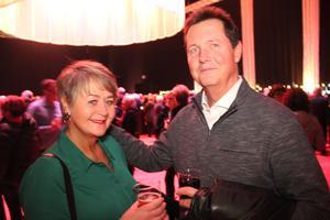 Makarna Yvonne och Kennet Lundgren, från Gävle såg fram emot kvällen, trots att de inte lyssnat jättemycket på bandet.