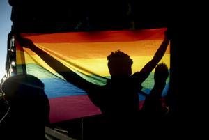 På lördag äger årets prideparad rum i Södertälje. Foto: Andrea Comas/AP Photo