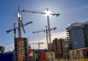 Det ska byggas mycket under många år i Västerås.Foto: TT