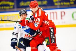 Sebastian Fakt spelar numera med allsvenska Almtuna och har hittills stått för sex poäng. Bild: Tobias Sterner/Bildbyrån