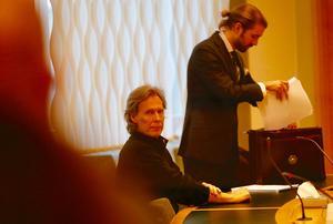 Ulf Borgström under häktningsförhandling.