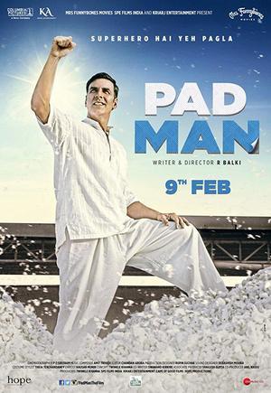 Akshay Kumar spelar Arunachalam Muruganantham, mannen som uppfann mensskyddet