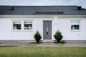 För ett år sedan flyttade familjen Törnqvist in i sin nybyggda villa i Mosås.