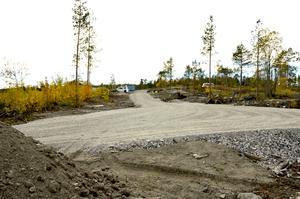 Ett omfattande jobb har gjorts med att bygga vägar i området.