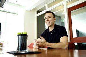 Jonas Grenfeldt, VD Panang kommunikation AB, tar hälsoarbetet ytterligare ett steg.