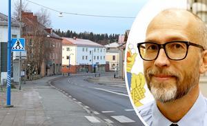 Det finns en polisstation i Kopparberg berättar Stefan Toll. Den ligger i kommunhuset. Bild: Anders Almgren/Michael Landberg