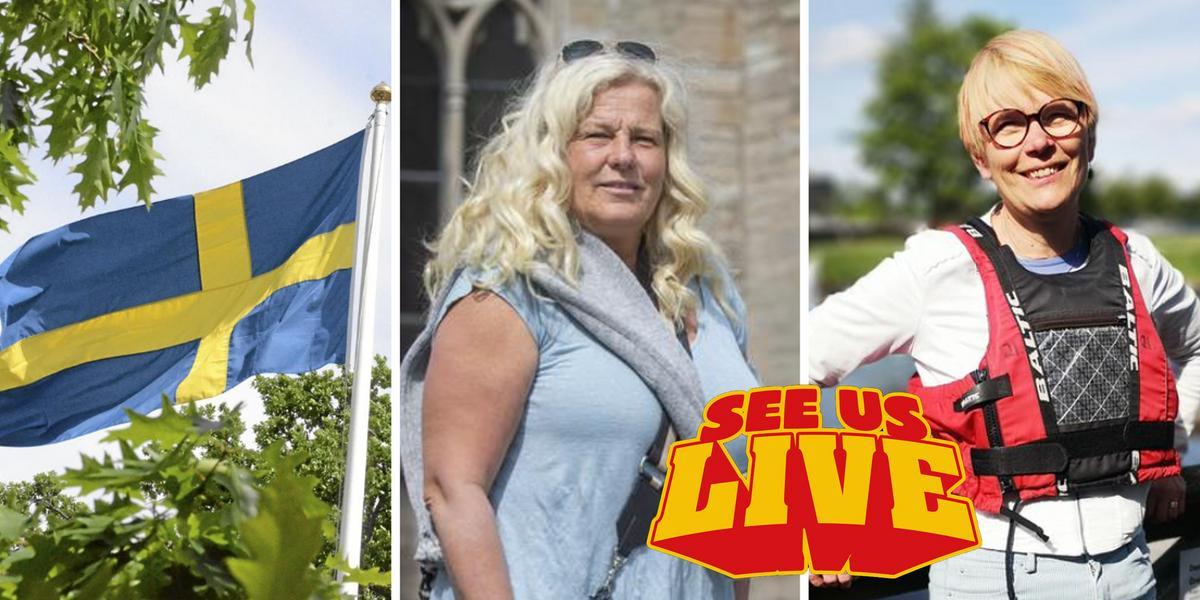 19.25: Örebros nationaldag med Mia Parnevik i spetsen Se sändningen här på NA