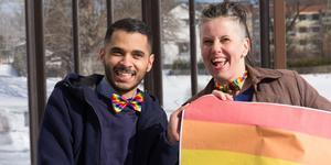 Sedan de offentliggjorde att det blir ett Fagersta Pride den 24 augusti har Mohammed Rabia och Carina Fredriksson nästan bara fått positiva reaktioner.