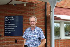 Tommy Lundqvist, centerpartisk ordförande i  Teknik- och klimatnämnden, menar att det är mer utmanande att jobba med klimat i en kommun med mycket landsbygd.