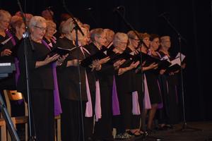 SPF kören gjorde 75-årsjubileet till en minnesvärd kväll