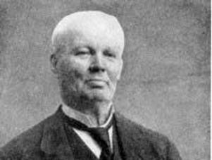 Anders Gustaf Dalman var Sveriges sista skarprättare. Han växte upp och bodde sina 36 första år i Norbergs kommun. Foto: Okänd