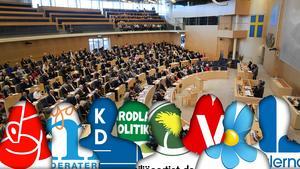 Västernorrland får lika många fasta platser i riksdagen som i dag, åtta stycken. Bild: Henrik Montgomery/TT