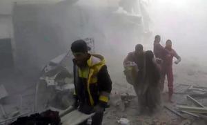500 civila har dödats i östra Ghouta  sedan den 18 februari.