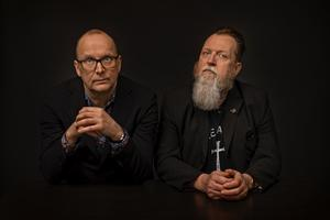 Anders Sundin och Peter Alzén fortsätter sin insats för Gävles musikliv. Bild: Ulf Berglund
