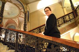 """""""Vi vill utveckla sådant som gynnar både sundsvallsborna och hotellverksamheten"""", säger hotelldirektör Ulrika Widmark Norberg ."""