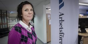 Helen Hörnqvist, sektionschef Arbetsförmedlingen i Östersund.