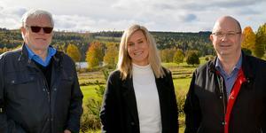 Här på Skönviksområdet kan det bli en multifunktionell anläggning. Bra för folkhälsan, menar Hans Grandin, Malin Lilja Altörn och Mats Nilsson.