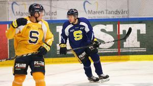 Christopher Bengtsson blev matchhjälte när SSK vann med 4-1 mot Pantern i fjol