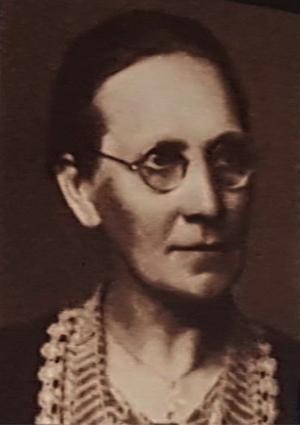 Alma Johansson. Bild från utställningen