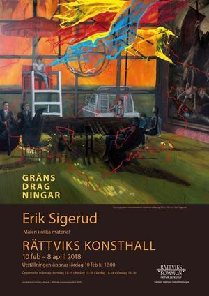 Erik Sigerud, Gränsdragningar.