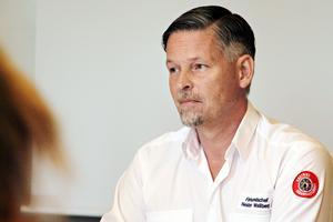 – I Hälsingland har de varit beroende av vår ledningskapacitet för att överhuvudtaget kunna få insatsen att fungera, säger Nestor Wallberg, förbundschef för Gästrike räddningstjänst.
