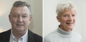 Roland Junerud (S) och Janice Boije (S) är kritiska mot kommunstyrelsens ordförande Harry Bouveng (M).