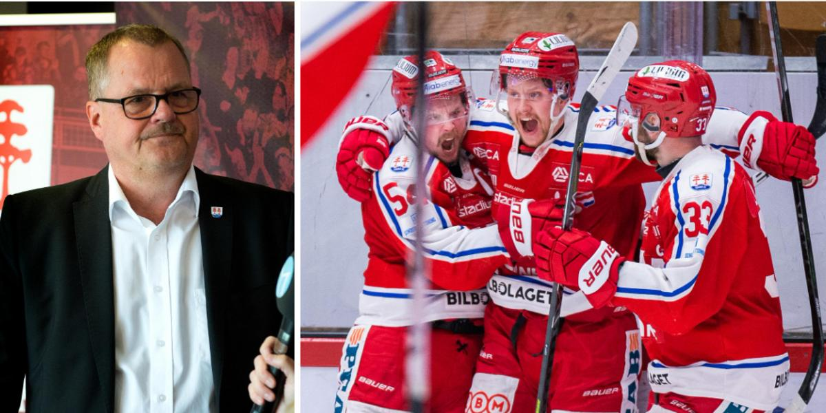 Timrå IK:s ordförande om tuffa året, sin egen framtid och ovissa läget: