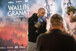 Timråboxaren Rocco Wadell är redo för sin femte proffsmatch.
