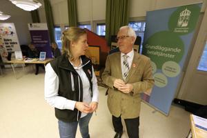 Josefine Eklund från arrangerande länsstyrelsen och Sivert Gustafsson från