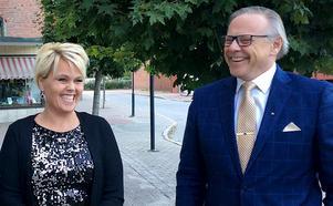Linda Mattsson Bolin (VFÅ) och Anders Mjärdsjö (M) kommer tillsammans representera oppositionen i Ånge.
