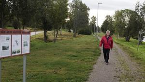 Mats Moberg räknar med att det blir fler, och kanske längre, vandringar i Timrå under nästa år.