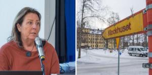 Lise Hjemgaard Svensson (M) noterar att alliansen redan för ett år sedan inte såg någon möjlighet att kunna bygga ett äldreboende på 700 miljoner kronor inom överskådlig tid.