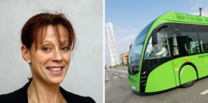 Hannah Ljung tycker att en satsning på superbussar i Örebro drar för mycket kapital ifrån kollektivtrafiken i hela Örebro län.