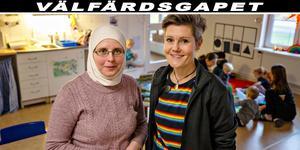 Rita Pöcze arbetar som förskolestöd på Källbackens förskola vilket gjort förskollärare Maria Halls tillvaro enklare. Nu kan hon fokusera mer på sitt kärnuppdrag, nämligen den pedagogiska verksamheten för barnen.